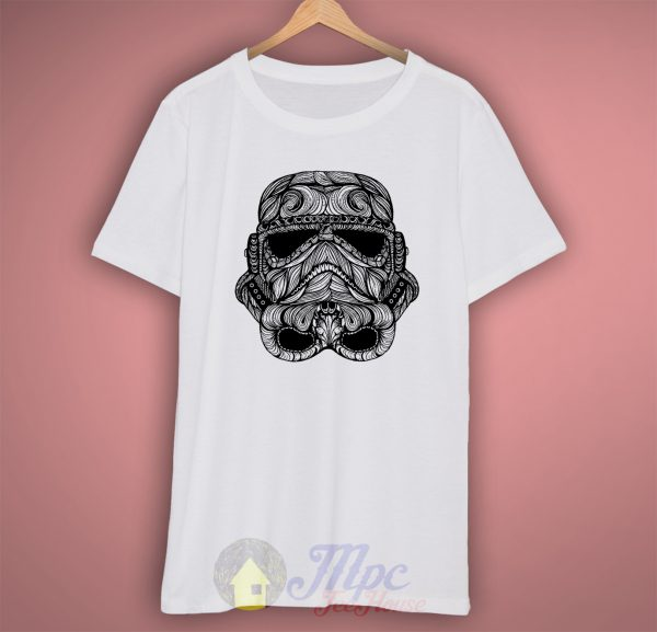 Stormtrooper Starwars Tribal T Shirt