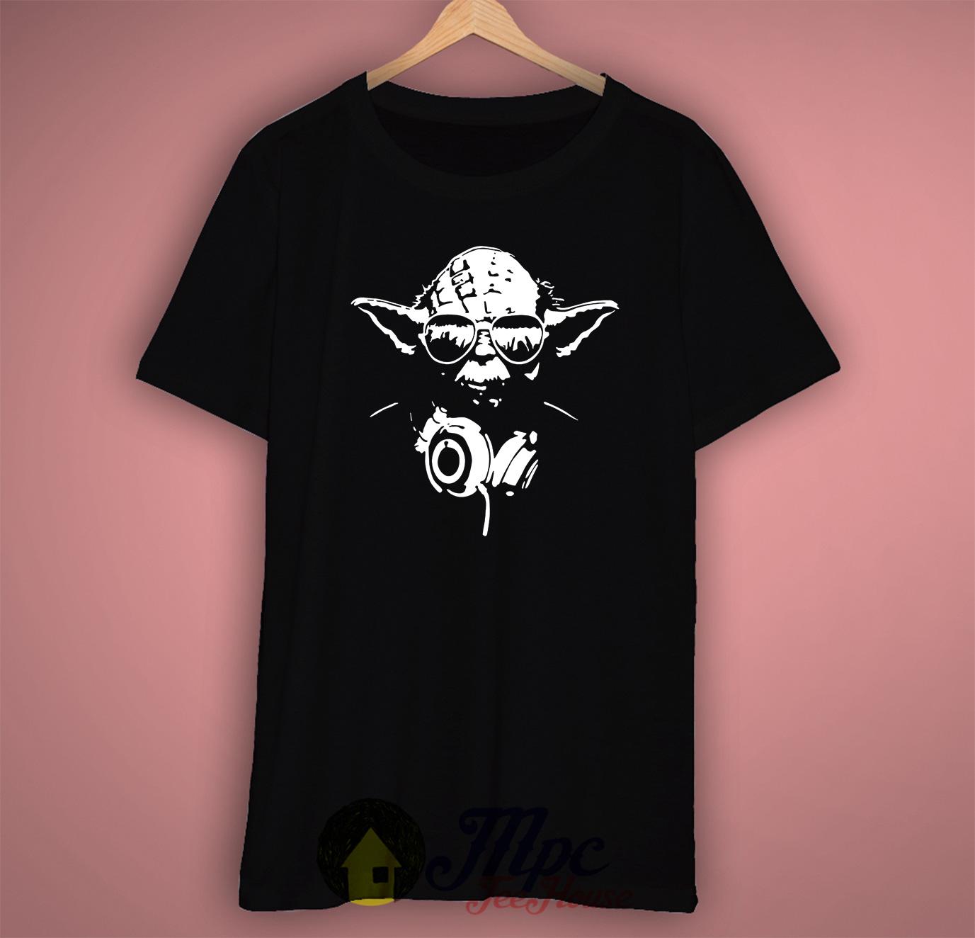 8eceef88 Funny Starwars Dj Yoda T Shirt · mpcteehouse tshirt size chart