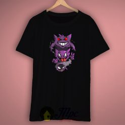 Gengar Ghost Pokemon T Shirt