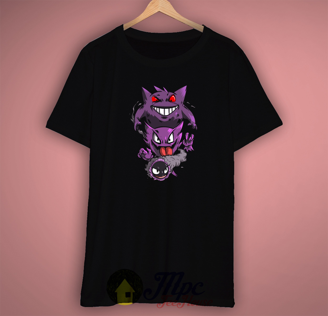 Gengar Ghost Pokemon T Shirt
