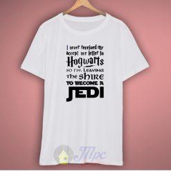 Hogwarts Alumni Jedi Star wars T Shirt