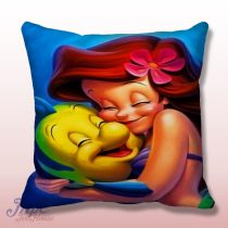 Ariel Little Mermaid Cute Throw Pillow Cover
