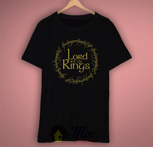The Lord of The Ring Symbol T Shirt