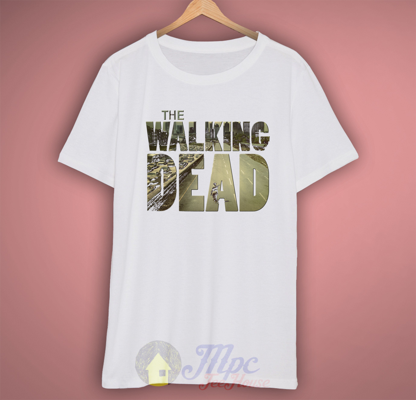The Walking Dead Symbol Cool Graphic T Shirt Mpcteehouse