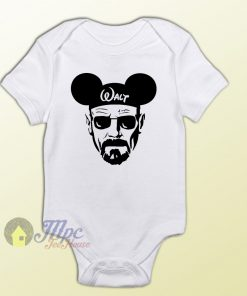 Walter White Breaking Bad Heisenberg Baby Onesie