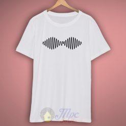 Arctic Monkeys Wave White T Shirt