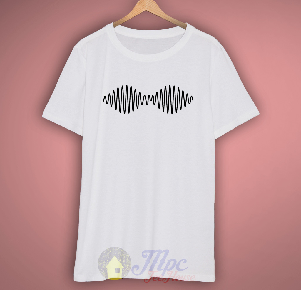Arctic Monkeys Wave White T Shirt