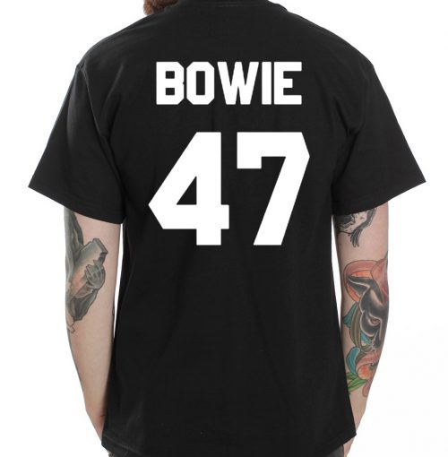Bowie 47 Jersey Number T Shirt