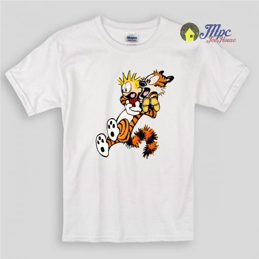 Calvin and Hobbes Shocking Kids T Shirts And Youth