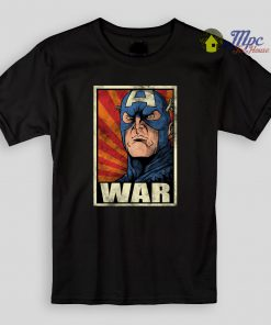 Captain America War Kids T Shirts and Youth