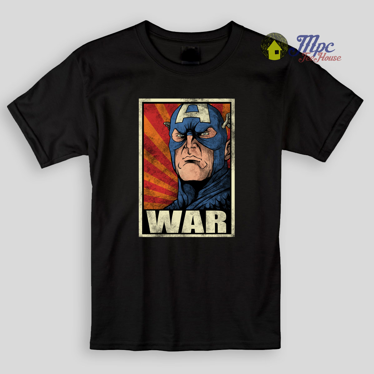 Captain America War Kids T Shirts | Mpcteehouse: 80s Tees