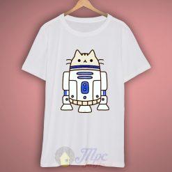 Cat R2D2 Star Wars T Shirt