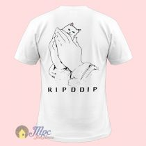 Cat Ripddip Hamsa Hand T Shirt