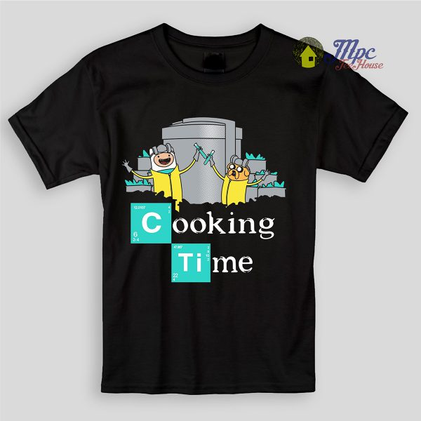 Jake Finn Cooking Time Kids T Shirts and Youth