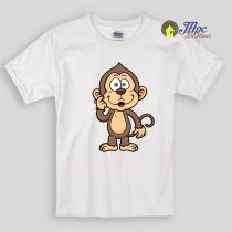 Cute Monkey Kids T Shirts and Youth