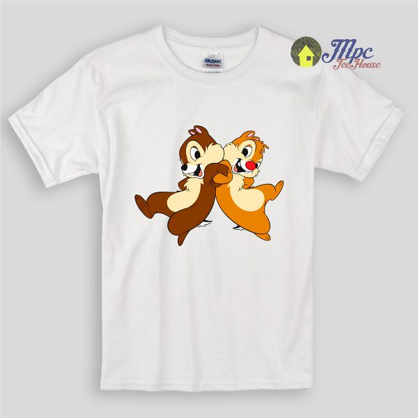 Dancing Chip And Dale Kids T Shirts and Youth