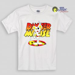 Danger Mouse Cartoon Kids T Shirts and Youth