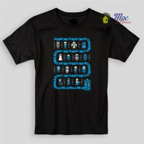Doctor Who Police Box Uggly Kids T Shirts