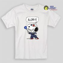 Doctor who Snoopy Beagles Kids T Shirts