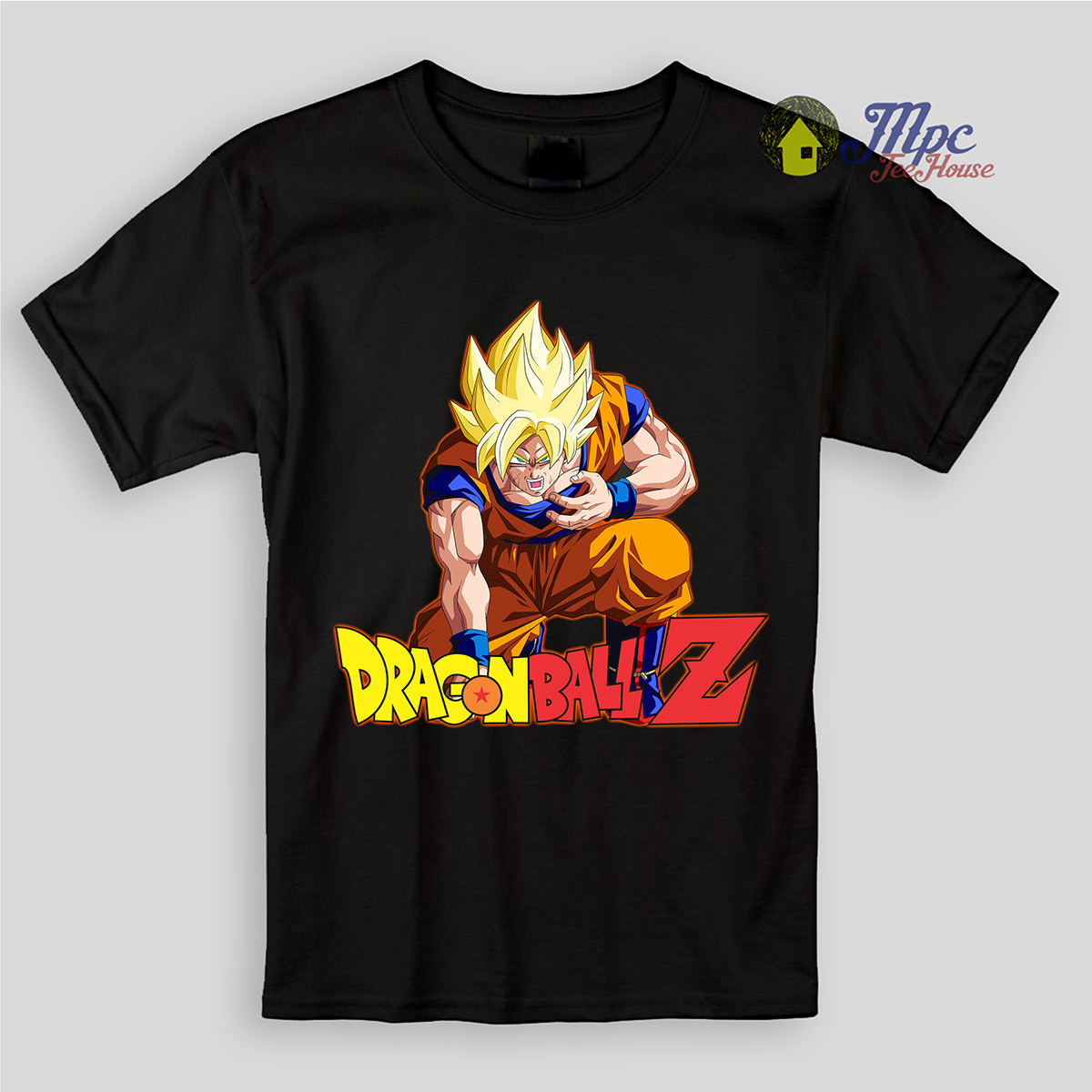 Dragon Ball Z Son Goku Super Saiyan Kids T Shirts