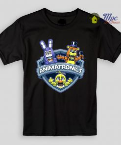 FNAF Animatronics Kids T Shirts and Youth
