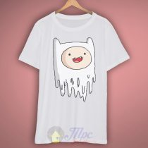 Finn Adventure Time Ghost T Shirt