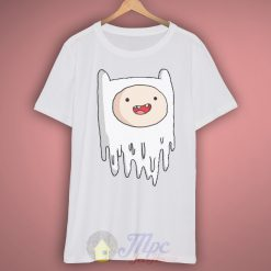Finn Adventure Time Ghost T Shirt