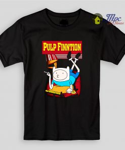 Funny Finn Pulp Finntion Kids T Shirts
