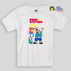 Finn and Steven Universe Character Kids T Shirts