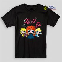 Frozen Let it Go Parody Kids T Shirts