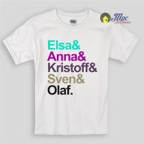 Frozen Family Kids T Shirts and Youth