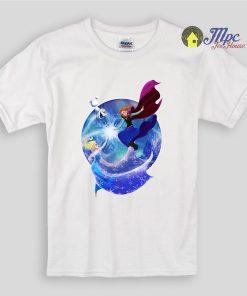 Frozen Elsa Anna Together Kids T Shirts