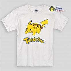 Funny Pokemon Tacochu Kids T Shirts