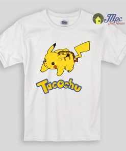Funny Pokemon Tacochu Kids T Shirts