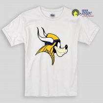 Goofy Minnesota Vikings Kids T Shirts And Youth