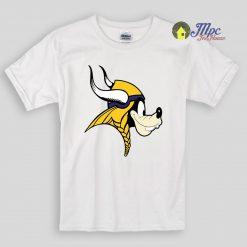 Goofy Minnesota Vikings Kids T Shirts And Youth