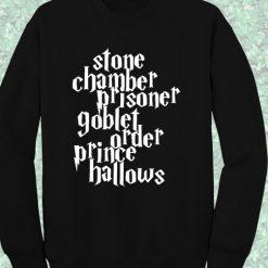 Harry Potter Stone Chamber Prisoner Crewneck Sweatshirt