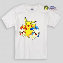 Hello Pokemon Kids T Shirts