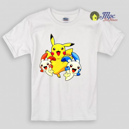 Hello Pokemon Kids T Shirts