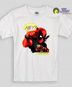 Deadpool Say Hey Nice Shirt Kids T Shirts