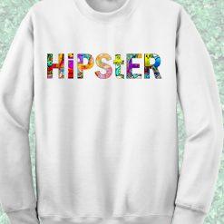 Hipster Crewneck Sweatshirt