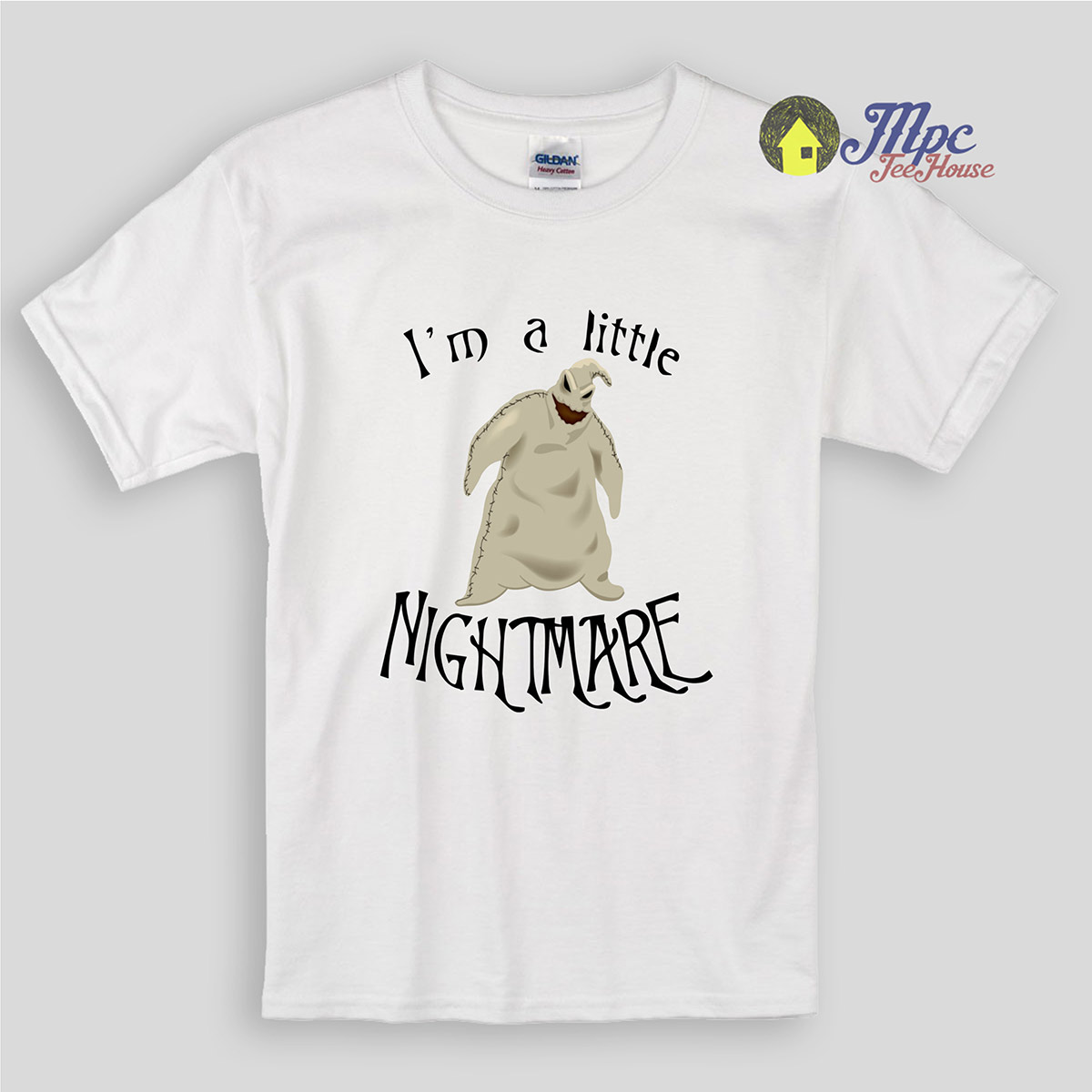 I\'m a little Nightmare Before Christmas Kids T Shirts | Mpcteehouse ...