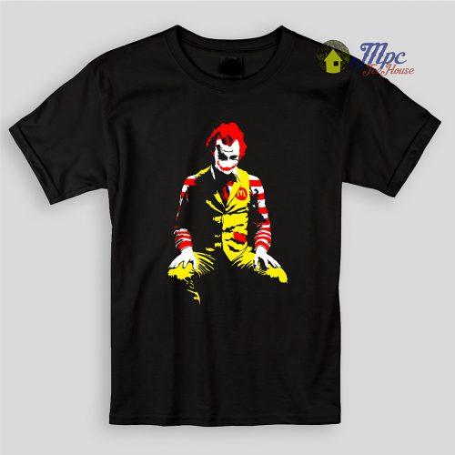 Joker Clown Kids T Shirts