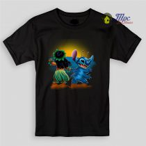 Lilo and Stitch Sunset Kids T Shirts and Youth