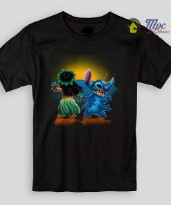 Lilo and Stitch Sunset Kids T Shirts and Youth