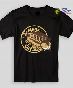 Totoro Magical Cat Bus Kids T Shirts
