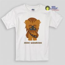 Mini Wookiee Cutest Star wars Kids T Shirts