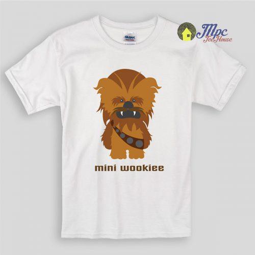 Mini Wookiee Cutest Star wars Kids T Shirts