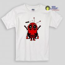 Minion Deadpool Kids T Shirts
