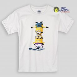 Minion Surfing Kids T Shirts and Youth